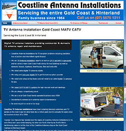 Coastline Antenna Installations