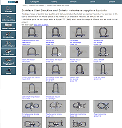Bridco aka Bridge and Company Stainless steel hardware suppliers and distributors Australia