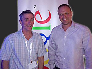 David Thatcher David Booth keynote speaker Google Engage Master class Brisbane 27 Feb 2012