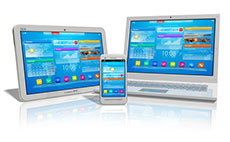 The Web is now being served in many different hardware devices inluding tablet, mobile phone and ultrabook